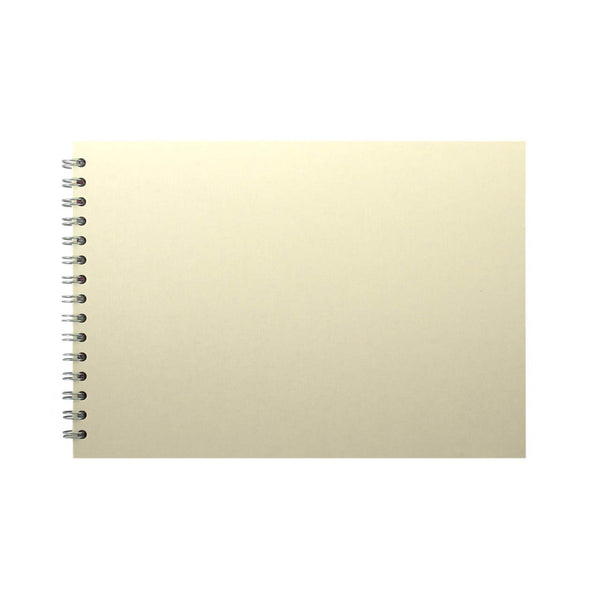 A4 Landscape, Eco Ivory Sketchbook by Pink Pig International
