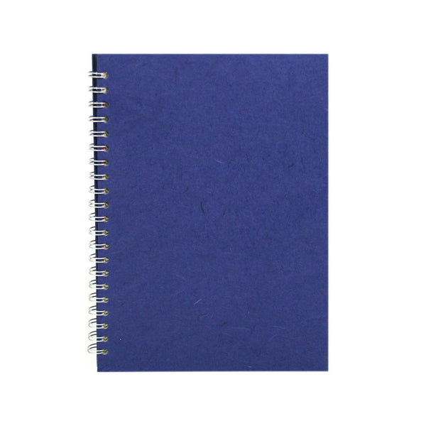 A4 Portrait, Royal Blue Watercolour Book by Pink Pig International