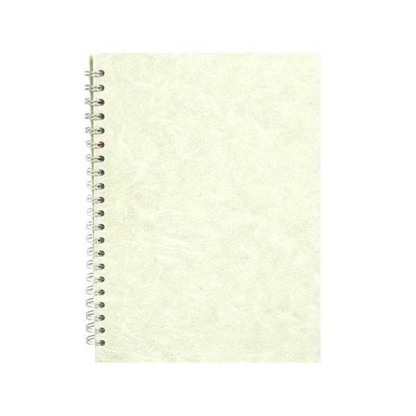 A4 Portrait, Ivory Notebook by Pink Pig International
