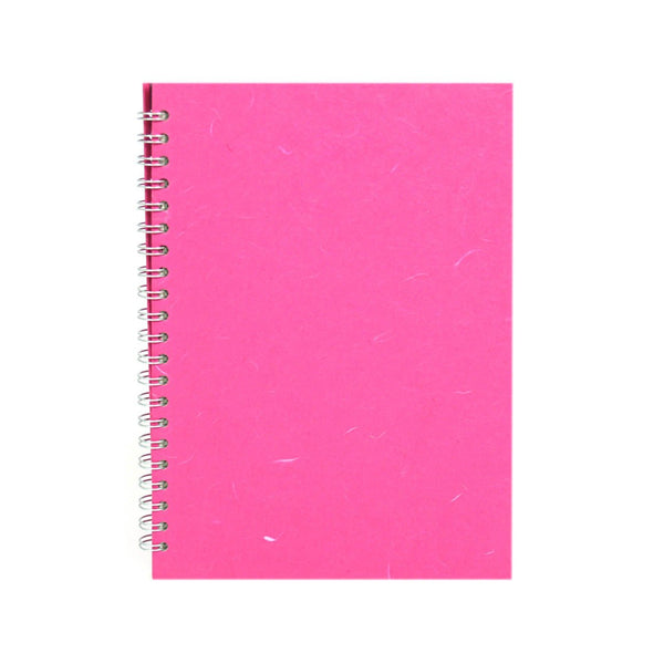 A4 Portrait, Bright Pink Notebook by Pink Pig International