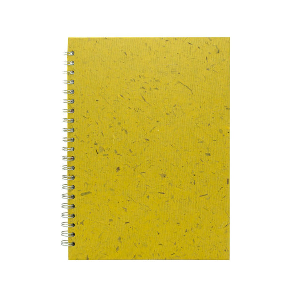 A4 Portrait, Wild Yellow Sketchbook by Pink Pig International
