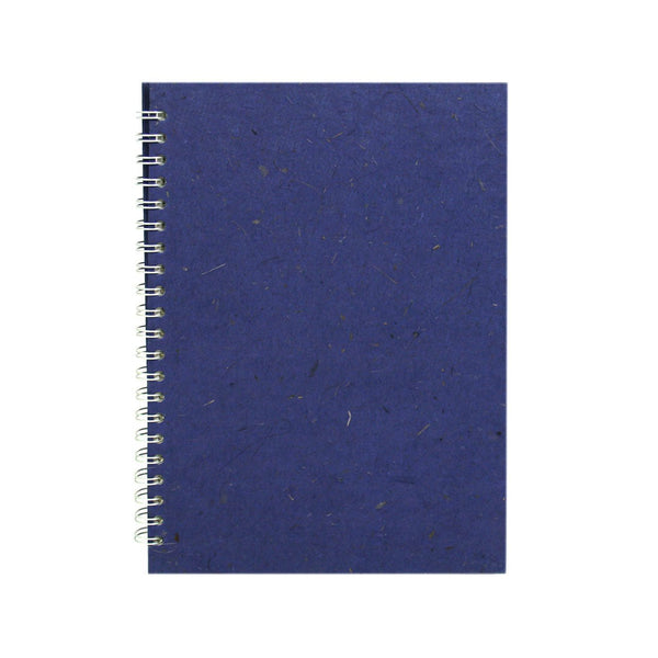 A4 Portrait, Sapphire Notebook by Pink Pig International