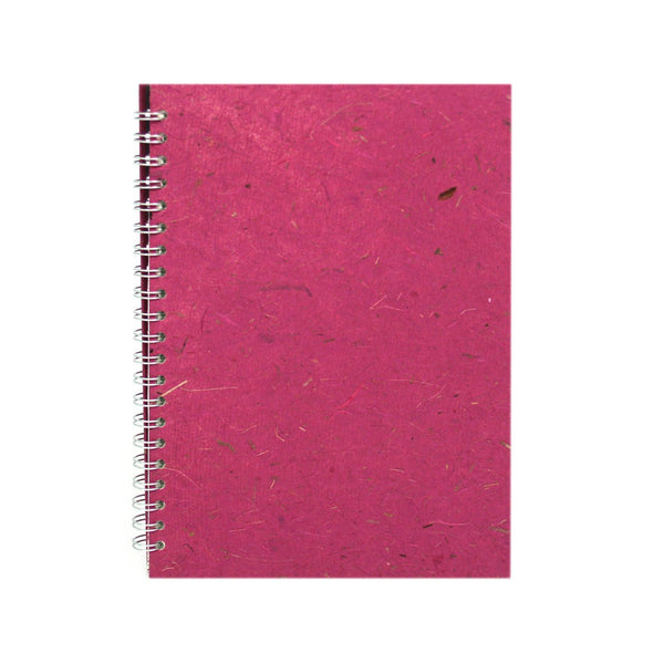 A4 Portrait, Berry Notebook by Pink Pig International