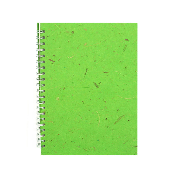 A4 Portrait, Emerald Notebook by Pink Pig International