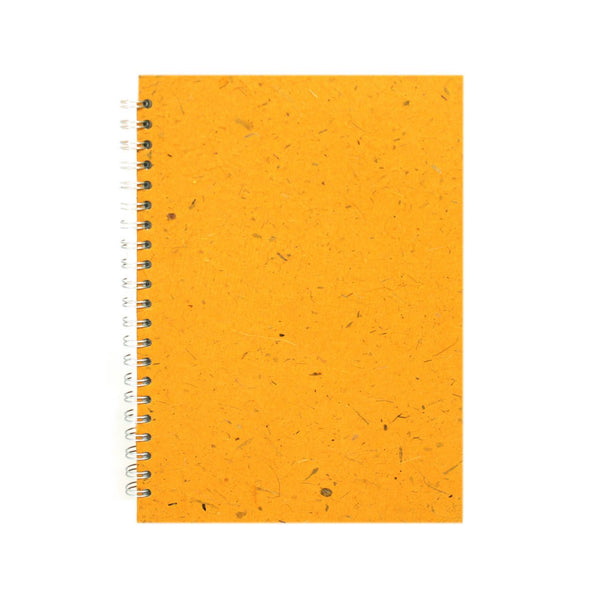 A4 Portrait, Amber Notebook by Pink Pig International