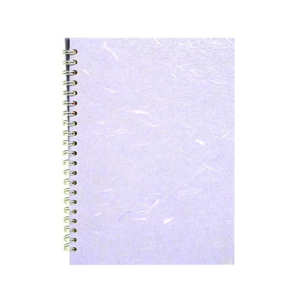 A4 Portrait, Lilac Watercolour Book by Pink Pig International