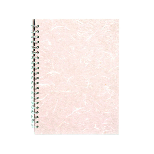 A4 Portrait, Pale Pink Watercolour Book by Pink Pig International