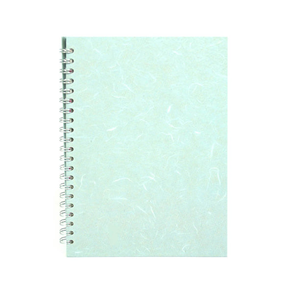 A4 Portrait, Pale Blue Watercolour Book by Pink Pig International