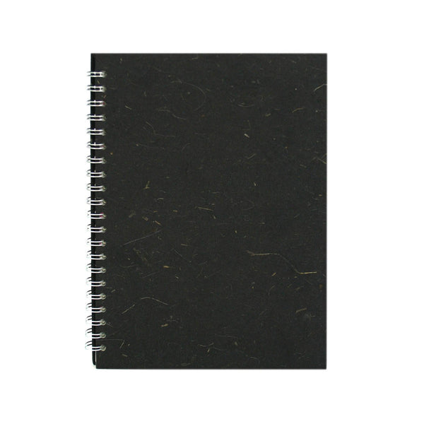 A4 Portrait, Ebony Notebook by Pink Pig International