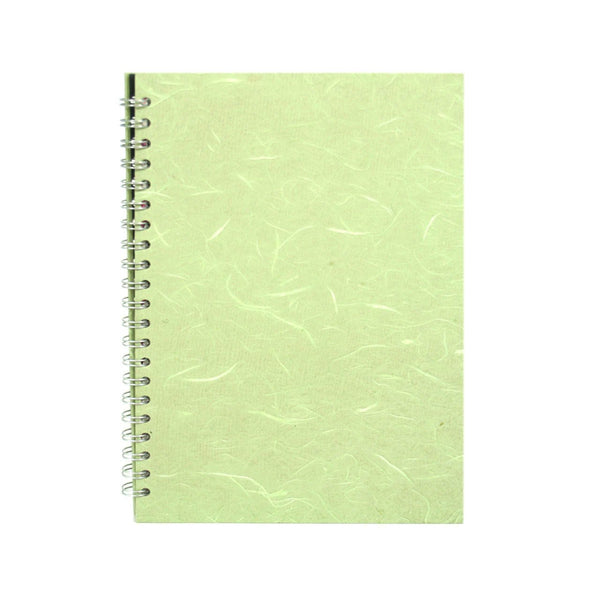 A4 Portrait, Mint Notebook by Pink Pig International