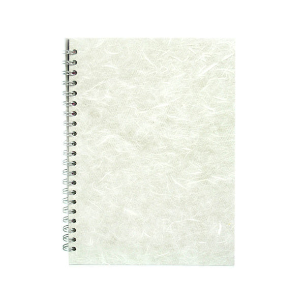 A4 Portrait, White Watercolour Book by Pink Pig International