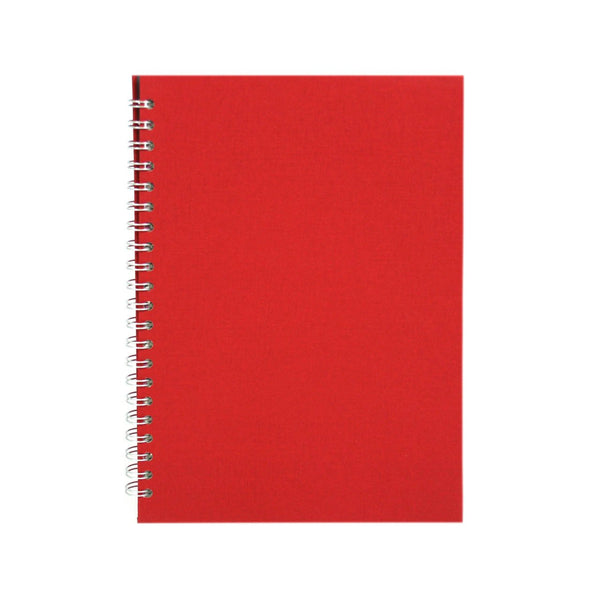 A4 Portrait, Eco Red Sketchbook by Pink Pig International
