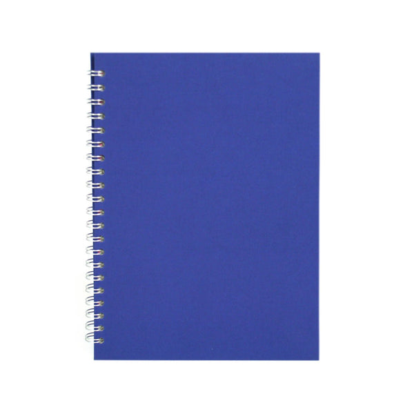 A4 Portrait, Eco Blue Sketchbook by Pink Pig International