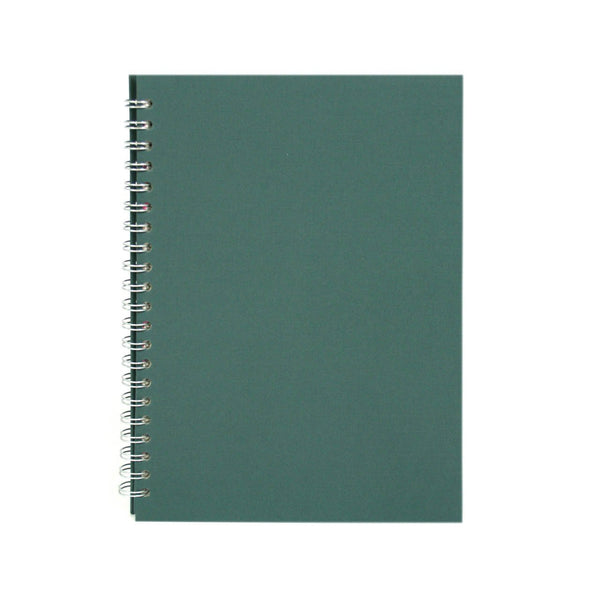 A4 Portrait, Eco Green Sketchbook by Pink Pig International