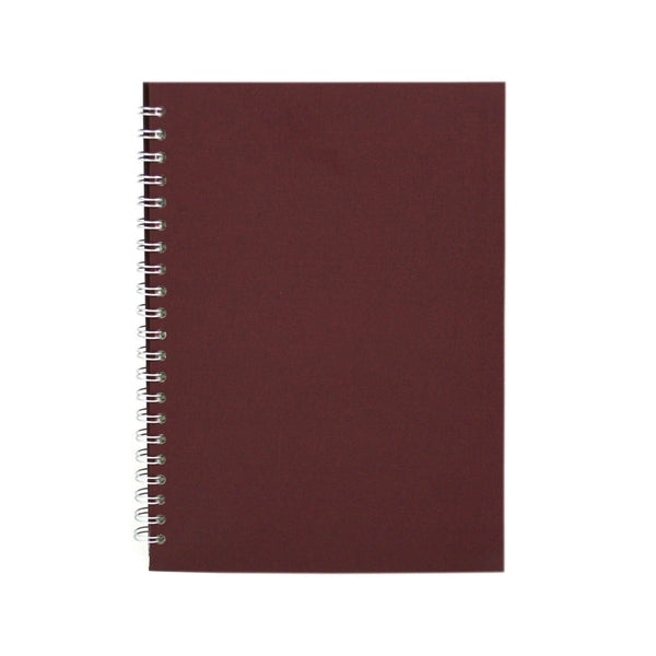 A4 Portrait, Eco Aubergine Notebook by Pink Pig International