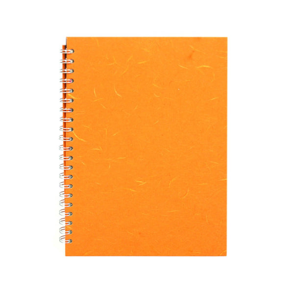 A4 Portrait, Orange Watercolour Book by Pink Pig International