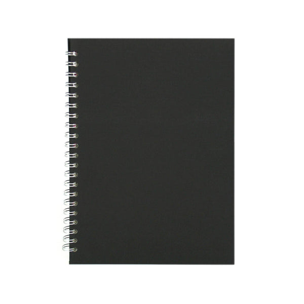 A4 Portrait, Eco Black Sketchbook by Pink Pig International