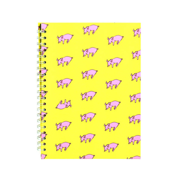 A4 Portrait, Sunshine Yellow Display Book by Pink Pig International