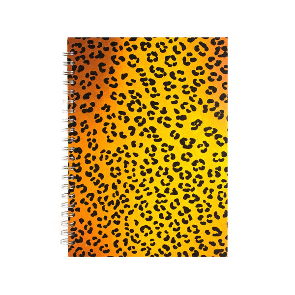 A4 Portrait, Leopard Notebook by Pink Pig International