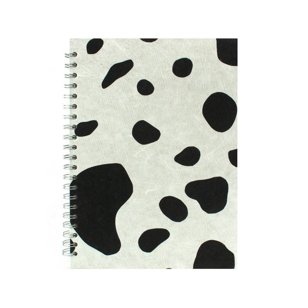 A4 Portrait, Cow Notebook by Pink Pig International