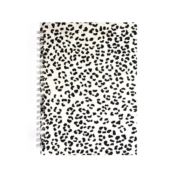 A4 Portrait, Snow Leopard Notebook by Pink Pig International