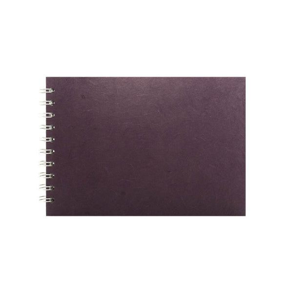 A5 Landscape, Aubergine Display Book by Pink Pig International
