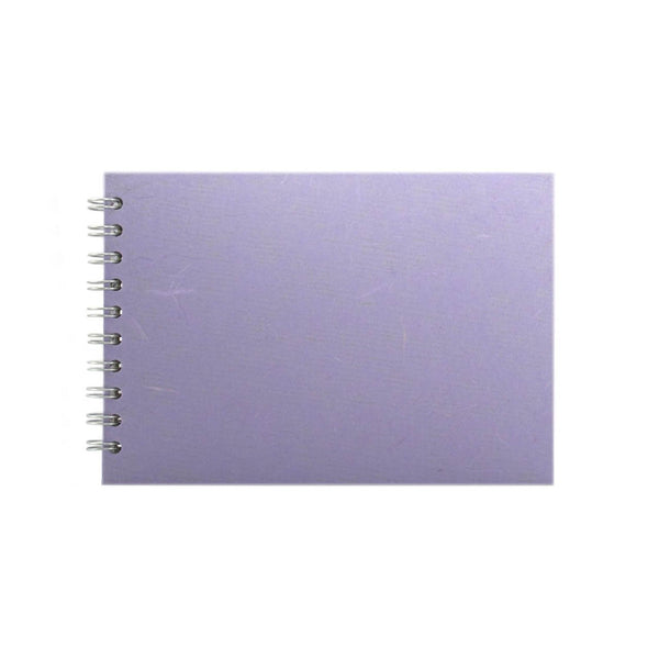 A5 Landscape, Lilac Watercolour Book by Pink Pig International