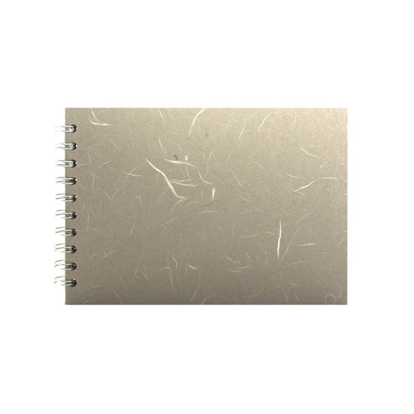 A5 Landscape, Pale Grey Display Book by Pink Pig International