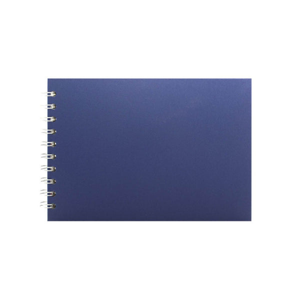 A5 Landscape, Eco Blue Sketchbook by Pink Pig International