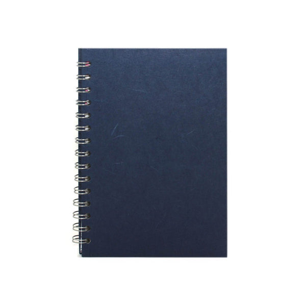 A5 Portrait, Royal Blue Notebook by Pink Pig International