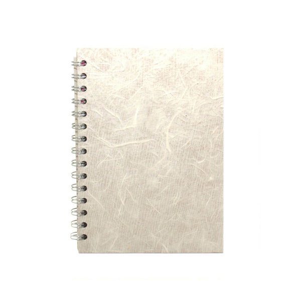 A5 Portrait, Ivory Notebook by Pink Pig International