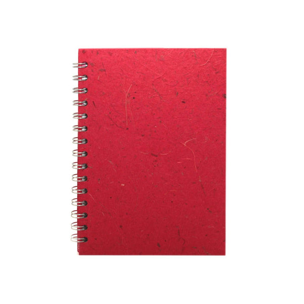 A5 Portrait, Ruby Notebook by Pink Pig International