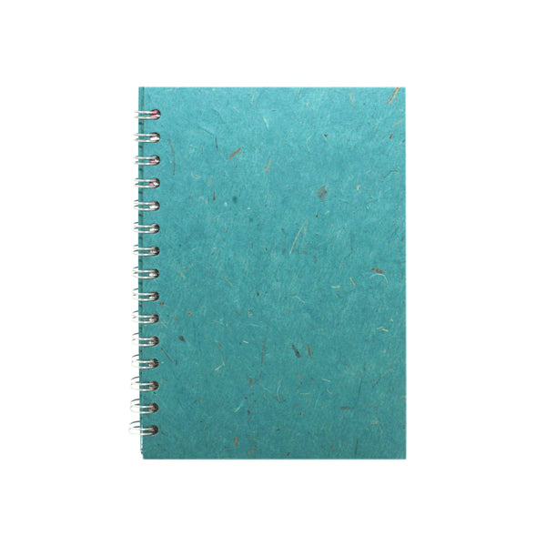 A5 Portrait, Turquoise Display Book by Pink Pig International