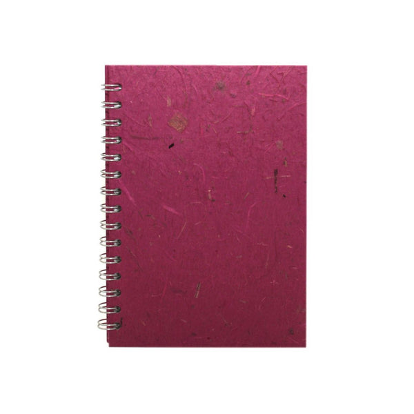 A5 Portrait, Berry Notebook by Pink Pig International