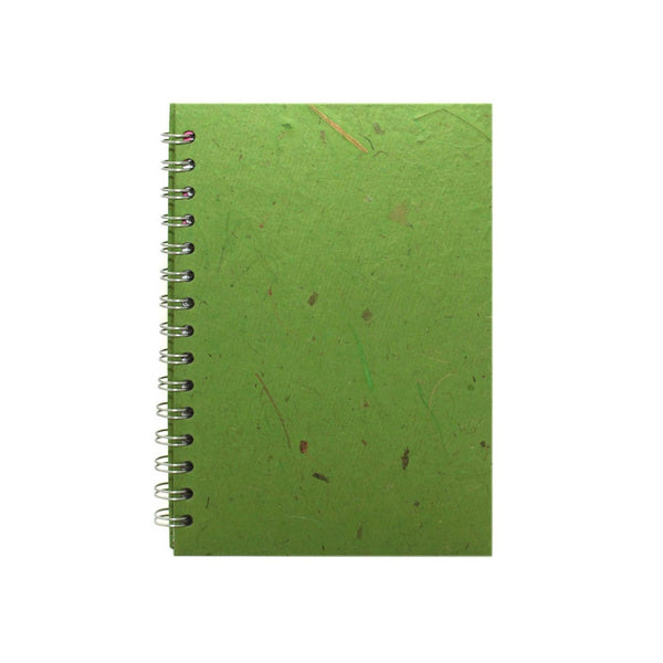 A5 Portrait, Emerald Notebook by Pink Pig International