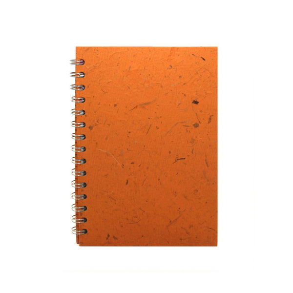 A5 Portrait, Amber Notebook by Pink Pig International
