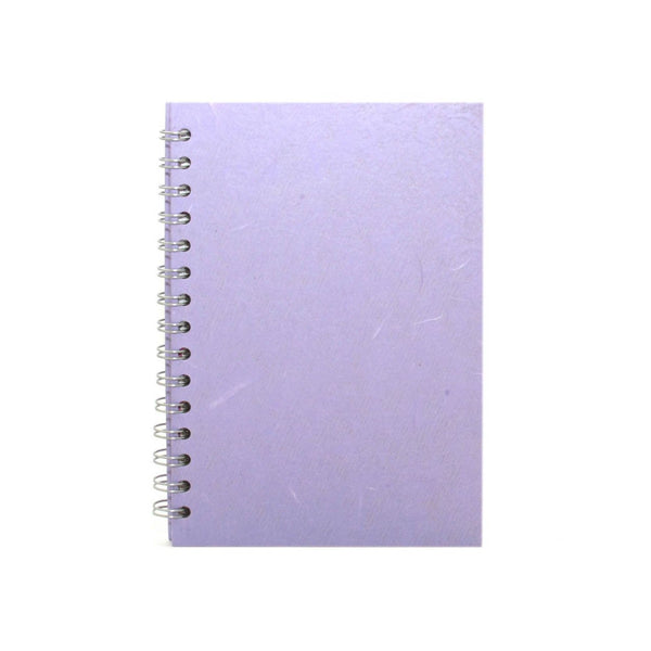 A5 Portrait, Lilac Watercolour Book by Pink Pig International
