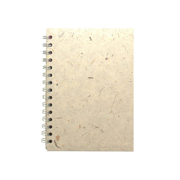 A5 Portrait, Natural Notebook by Pink Pig International