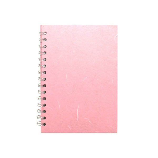 A5 Portrait, Pale Pink Notebook by Pink Pig International