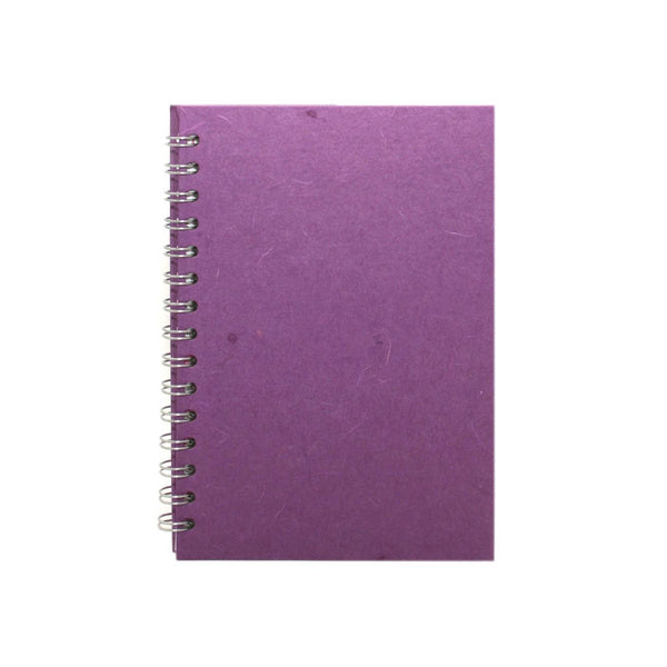 A5 Portrait, Purple Notebook by Pink Pig International