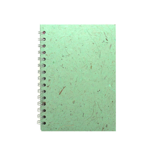 A5 Portrait, Peppermint Notebook by Pink Pig International