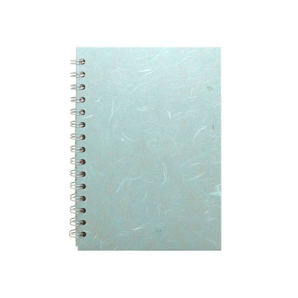 A5 Portrait, Pale Blue Notebook by Pink Pig International