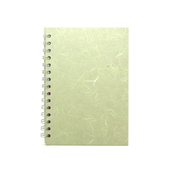 A5 Portrait, Mint Notebook by Pink Pig International
