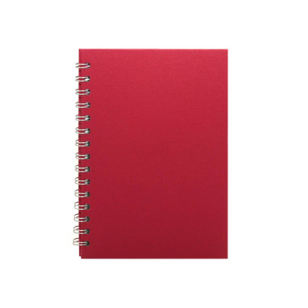 A5 Portrait, Eco Red Display Book by Pink Pig International