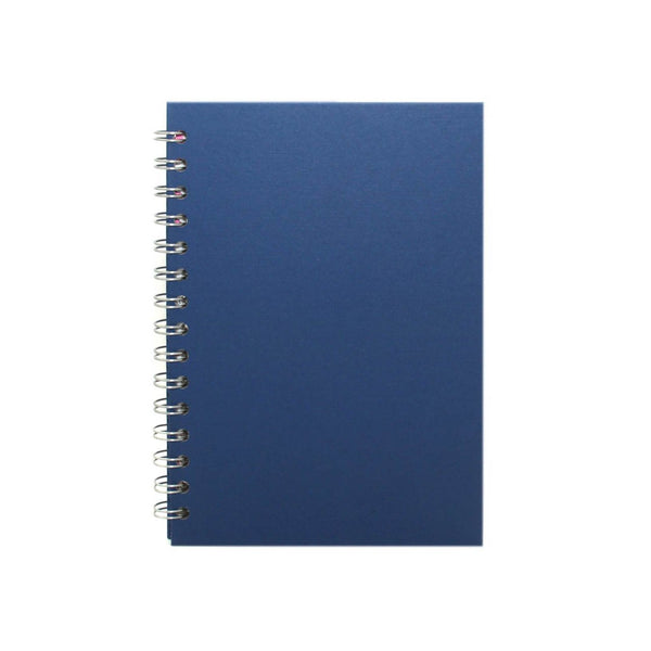 A5 Portrait, Eco Blue Sketchbook by Pink Pig International