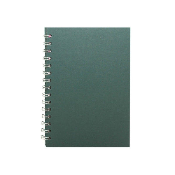 A5 Portrait, Eco Green Sketchbook by Pink Pig International