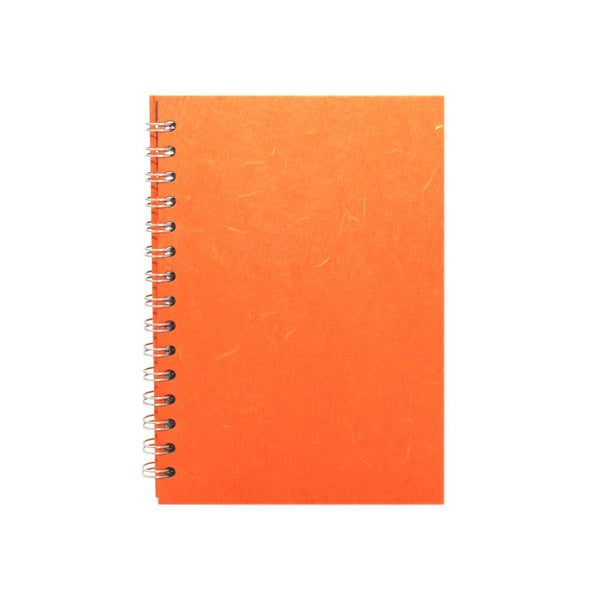 A5 Portrait, Orange Watercolour Book by Pink Pig International