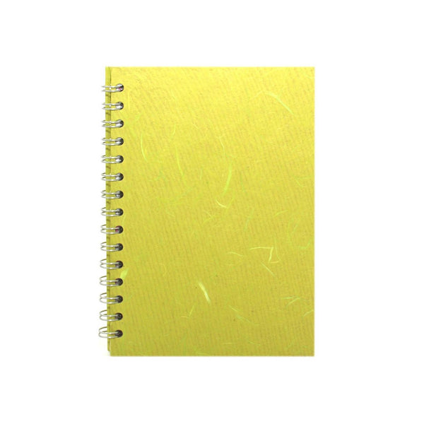A5 Portrait, Lime Green Sketchbook by Pink Pig International