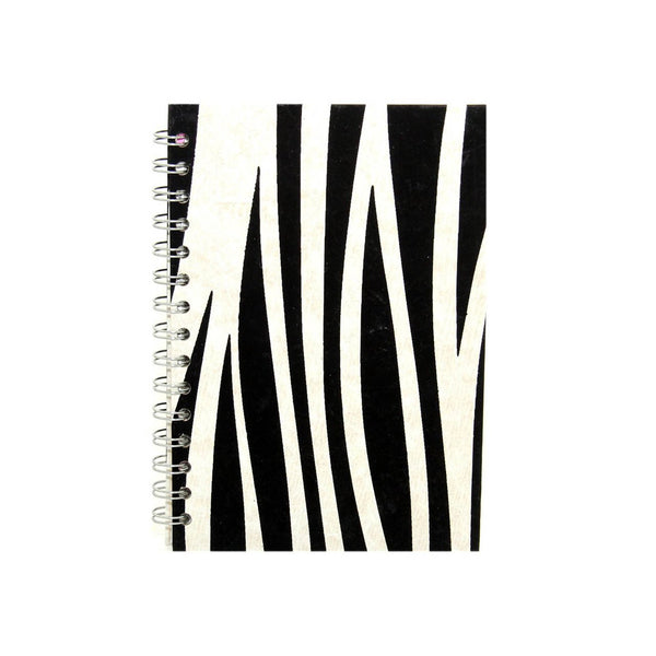 A5 Portrait, Zebra Sketchbook by Pink Pig International