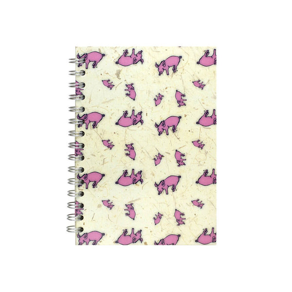 A5 Portrait, Random Pig Notebook by Pink Pig International